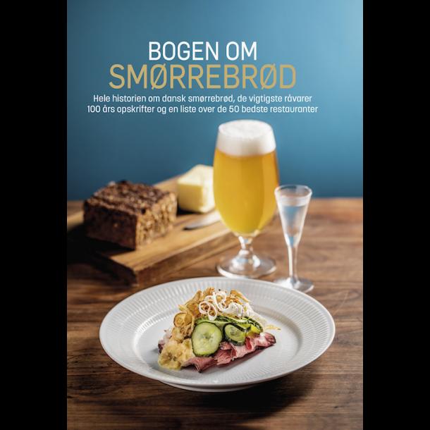 Bogen om Smørrebrød - eksemplar signeret af forfatteren